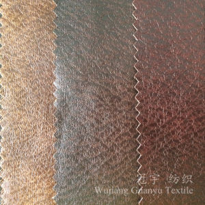 China Printed Suede Faux Leather Fabric