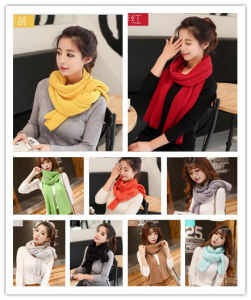 Factory Majored Make Winter Warm Fashion Top Sale Lady Acrylic Scarf
