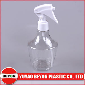 280ml Clear Designed Pet Plastic Bottle (ZY01-D147)