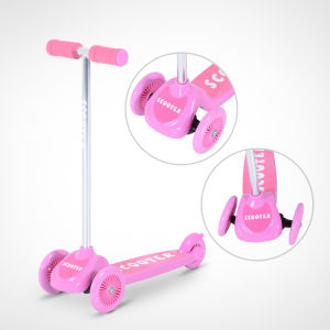 Mini Tri Scooter with 3 PVC Wheel (YV-026)