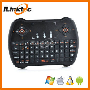 Ultra Mini 2.4G Wireless Fly Mouse Keyboard with Touchpad Gaming Keyboard for Android