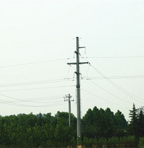 10 Kv Monopole Tower Power Transmission pictures & photos