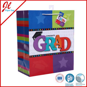 Scrawl Art Paper Gift Bags with Handle Gift Paper Bags pictures & photos