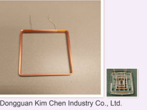 Inductor Coil for Antenna/Adhesive Copper Wire Antenna Coil pictures & photos
