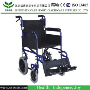 "18"" Aluminum Transport Wheelchair (CCW133)"