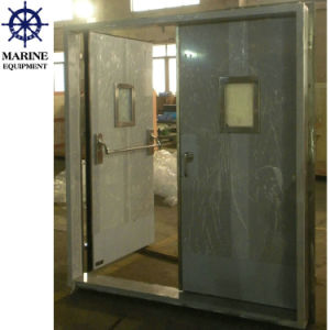 Marine A60 Gastight Watertight Double Leaf Stainless Steel Door pictures & photos