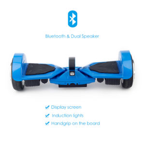 K5 Fat Tire Electric Hoverboard with Dual Bluetooth Speakers pictures & photos