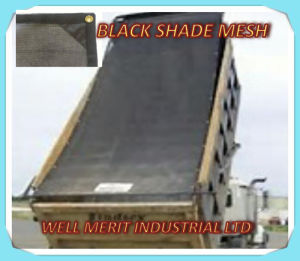 Black Mesh Shade for Dump Truck pictures & photos
