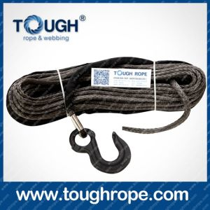 Tr-08 ATV Winch Dyneema Synthetic 4X4 Winch Rope with Hook Thimble Sleeve Packed as Full Set pictures & photos