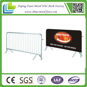Galvanized Safety Crowd Control Barrier for Hot Sale