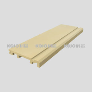 Green Material Customized WPC Skirting for Decoration Construction (VK-T1) pictures & photos
