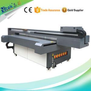 China Inkjet Digital UV Printing Machine Multicolor Ntek Flatbed Printer For Wall