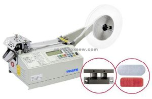 Automatic Hook & Loop Half Circle Cutter Machine pictures & photos