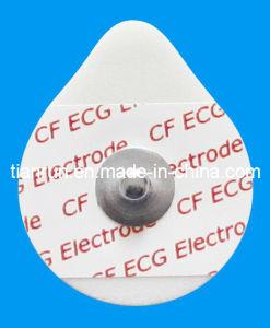 Disposable ECG Monitoring Electrode, PE Foam Backing, 30*36mm