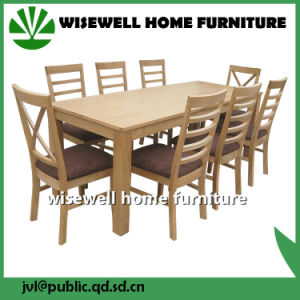 Dining Table with 8PC Chairs Oak Furniture