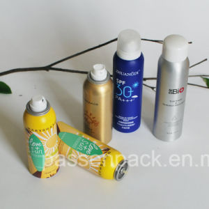 100ml Aluminum Aerosol Bottle for Sunscreen Spray pictures & photos