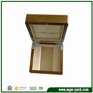 High Glossing Yellow Square Wooden Watch Box pictures & photos