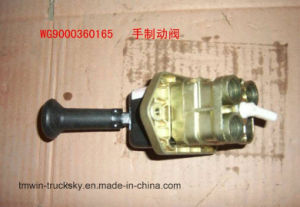 HOWO Truck Parts Hand Brake Valve (WG9000360165) pictures & photos