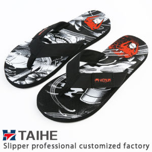 1245eb885a4dae China Customize Wholesale EVA Women Summer Flip Flops Beach Rubber ...