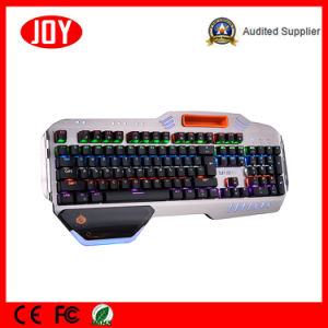 Super Design Mechanical Wired Gaming Keyboard USB pictures & photos