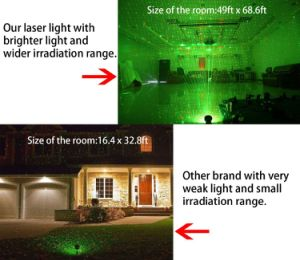 Best-Selling Auto Rotating Outdoor Decoration Laser Light Indoor Home Party Light pictures & photos