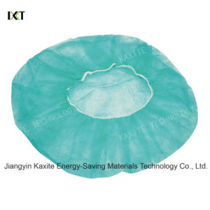 Disposable Medical Round Non Woven Bouffant Caps pictures & photos