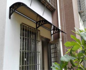 Half Round Window Roof Folding Shade Rain Protection Canopy