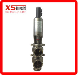 Dn80 Stainless Steel Sanitary Hygienic Mixproof Valve/Mixing Proof Valve/Seat Lift pictures & photos