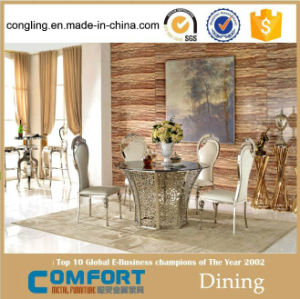 Round Dining Table With Rotating Centre For Wedding