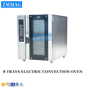 Bakery Shop Used Stainless Steel Computer Control Electric Convection Oven (ZMR-8D) pictures & photos