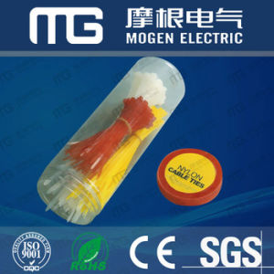 Nylon 66 PA Plastic Self-Locking Cable Tie with Ce RoHS pictures & photos