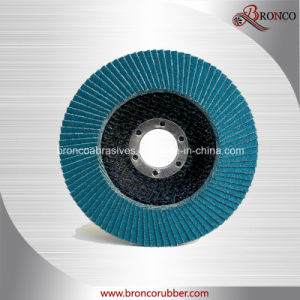 China Supplier Sharpness T27 115mm Grit 40 Zirconia Flap Disc for Stainless Steel Polishing