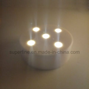 Plastic&Nbsp; Fire Safe Battery Operated Top Bright Decorative Imitation LED Night Light with 5 Lights pictures & photos