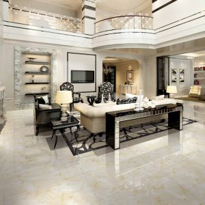 Iceland Crystal Jade Marble Tile High-End Luxury Dining Living Room