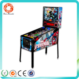 Arcade Virtual Pinball Machine Spider-Man 5 Balls Pinball Vending Machine