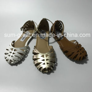 New Style Ladies Shoes Flat Shoes Girl Sandals