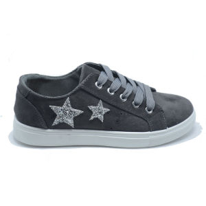 Two Stars Injection Leisure Popular Rubber Student Women Shoes pictures & photos