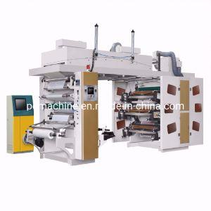 6 Colors High Precision Ci Central Impression Flexographic Printing Machine