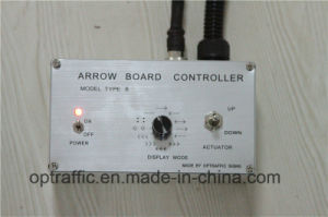 Mounting Flashing LED Warning Arrow Sign, Traffic Safety Vehicle Mounted LED Arrow Boards pictures & photos