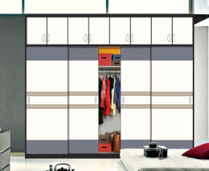 Customized Modern Bedroom Sliding Wardrobes Many Colors