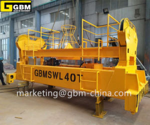 Gbm20′ to 40′ Electric Hydraulic Telescoping Container Spreader pictures & photos