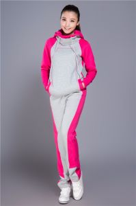 Fashion Blank Cotton Hoodies for Women Clothes Sportwear (R) pictures & photos