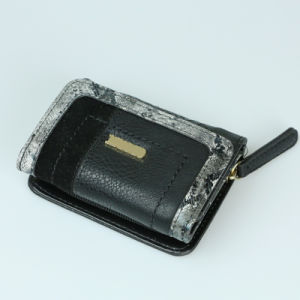 Lady Fashion Coin Purse Bag PU Genuine Leather Purse Wallet pictures & photos