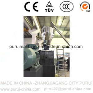 Washed HDPE Flakes Single Screw Pelletizing Extruder (zhangjiagang) pictures & photos