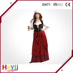 New Tavern Wench Women Girls Party Cosplay Costume pictures & photos