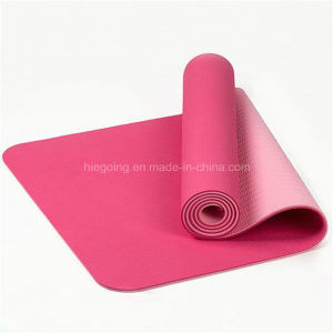 Top Quality Waterproof Non-Slip TPE Yoga Mat pictures & photos