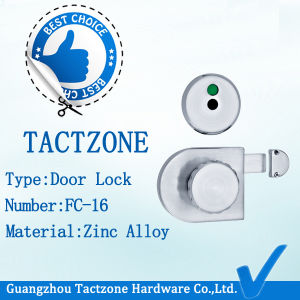Wholesale Hot Factory Directly Toilet Fitting Zinc Alloy Bathroom Lock pictures & photos