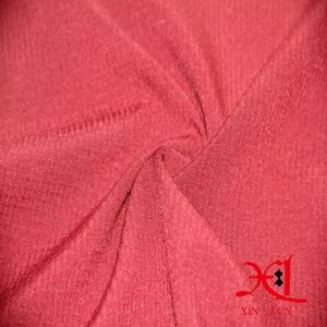 Stretch Gingham Polyester/Spandex Woven Lycra Fabric for Pants pictures & photos