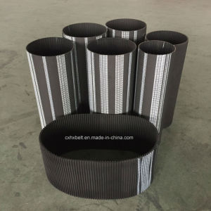 Rubber Timing Belt for Machinery Industry At20*1240 At20*1280 At20*1320 At20*1460 pictures & photos