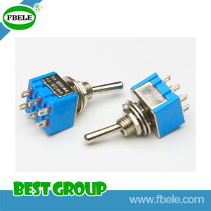 250V on-on Blue 2 Pole Toggle Switch (FBELE) pictures & photos